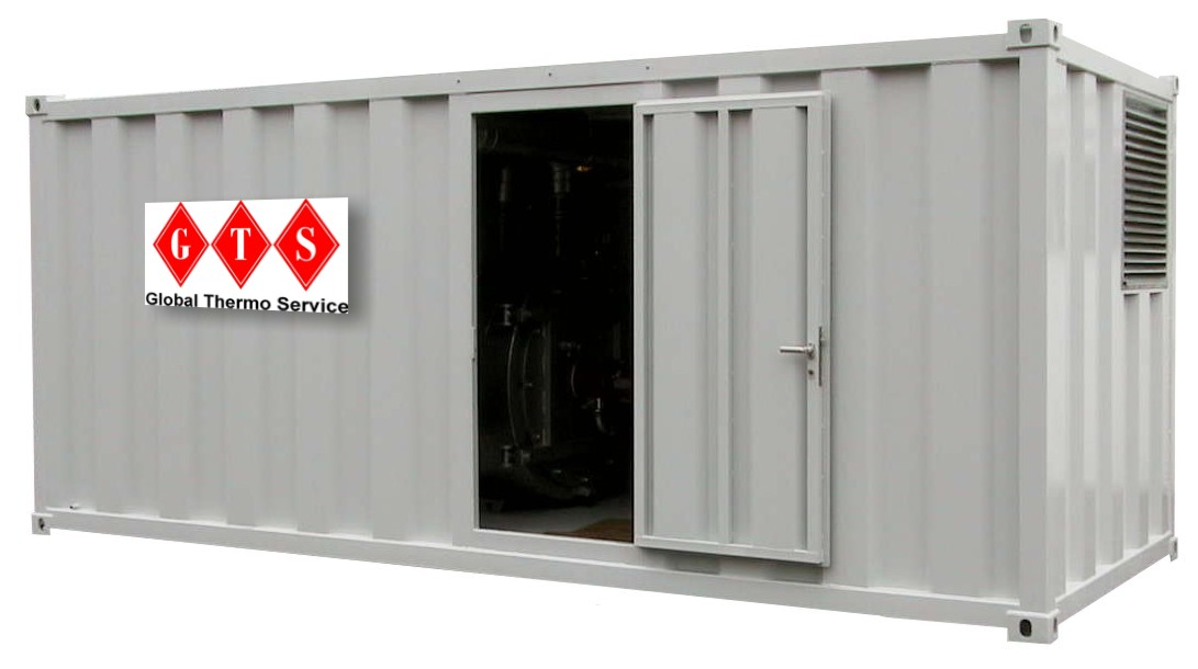 20' Container Heating Plant