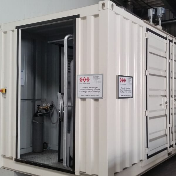 20' Container Heating Plant 300 kW